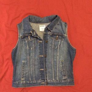 Old Navy Jeans Vest